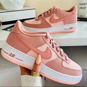 NWT Nike Air Force 1 pink